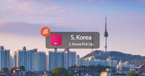 Thuê Bộ Phát Wifi 4G Hàn Quốc từ WIDEMOBILE (Nhận Tại Sân Bay Hàn Quốc)