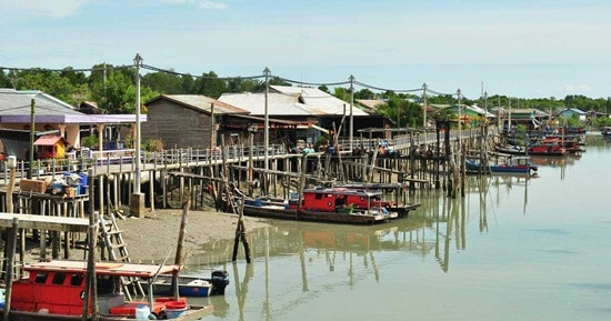 Tour du lich khám phá Làng Cua (Crab Village) thôn dã