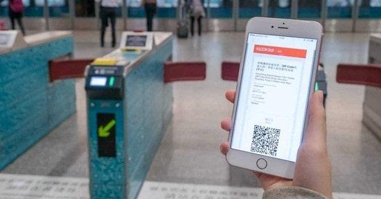 Vé Xe Lửa Tốc Hành Hồng Kông Airport Express ( vào cổng với QR Coder) Một Chiều/ Khứ Hồi