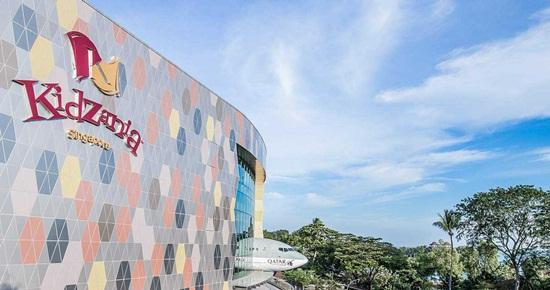 Vé khu Vui Chơi KidZania Singapore
