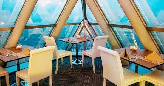 Buffet quốc tế tại Baiyoke Sky Hotel tầng 76 – 78