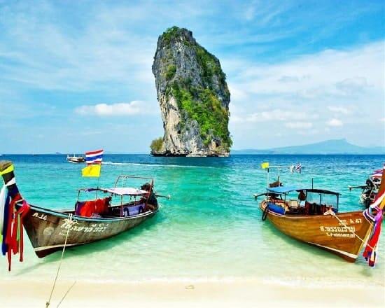 Tour khám phá 7 đảo ở Krabi - ngắm hoàng hôn - tiệc BBQ