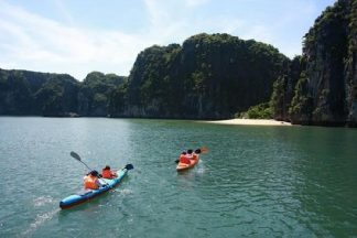 Tour du lịch Vịnh Lan Hạ - Đảo Khỉ-4 tieng