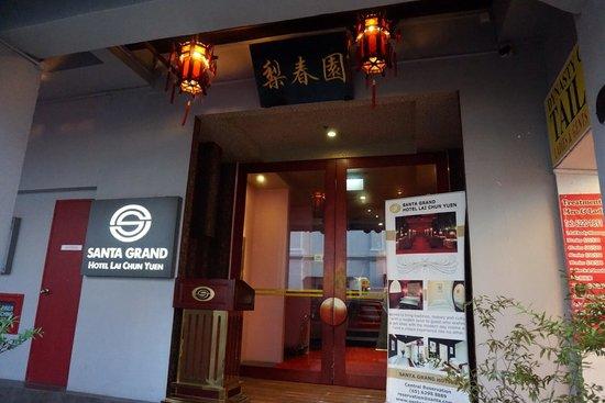Santa Grand Hotel Lai Chun Yuen - Top 10 khách sạn Singapore giá rẻ dưới 100$