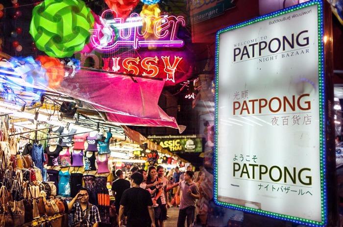 Chợ Patpong - Hoạt động về đêm ở Bangkok