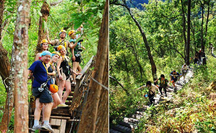 Đu dây - Tất tần tật kinh nghiệm du lịch Chiang Mai Thái Lan