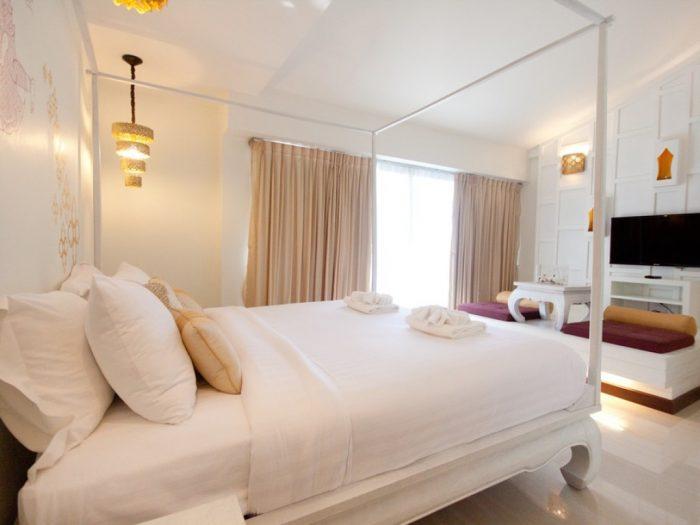 Phòng ngủ tại khách sạn Nimman Mai Design Chiang Mai - Tất tần tật kinh nghiệm du lịch Chiang Mai Thái Lan