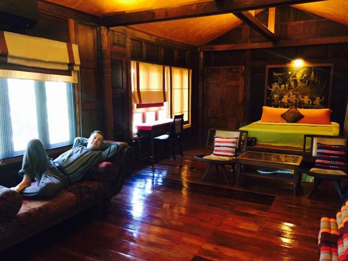 Phòng ở khách sạn Baan Boo Loo Chiang Mai - Tất tần tật kinh nghiệm du lịch Chiang Mai Thái Lan