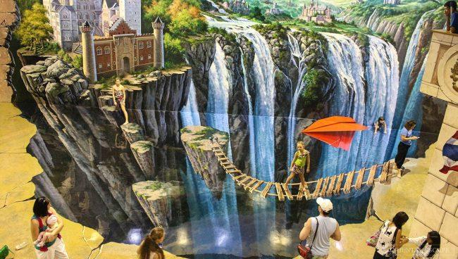 Art in Paradise - Điểm vui chơi cho trẻ em ở Bangkok
