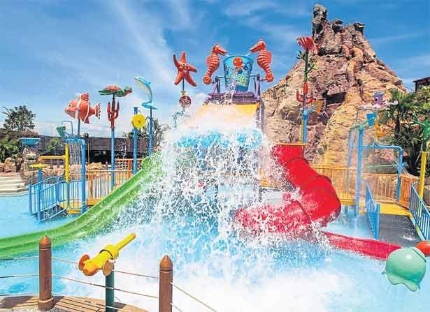 Fantasia Lagoon Water Park - Điểm vui chơi cho trẻ em ở Bangkok