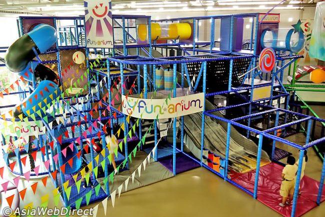 Funarium - Điểm vui chơi cho trẻ em ở Bangkok