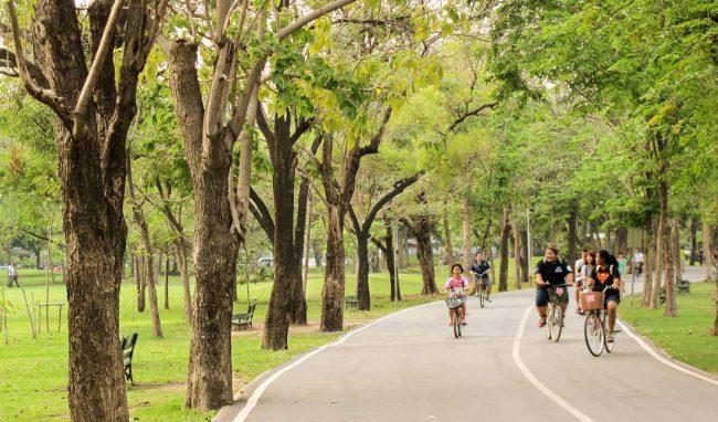 Wachira Benchathat Park - Điểm vui chơi cho trẻ em ở Bangkok