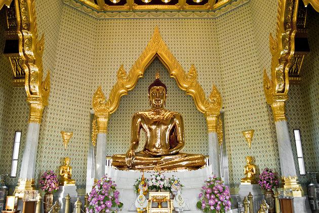 Wat Traimit – Chùa Phật Vàng Bangkok Thái Lan