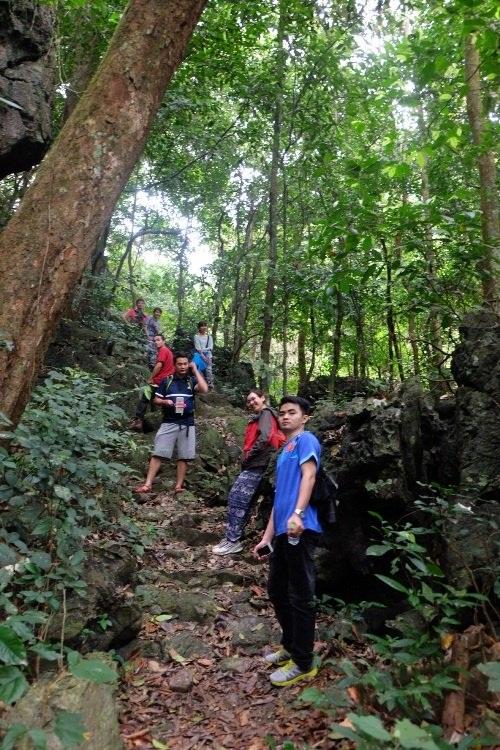 Trải nghiệm trekking xuyên rừng khi đi du lịch đảo cát bà