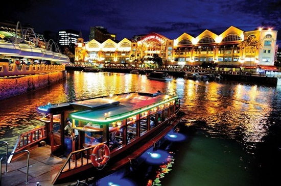 River cruise ở Singapore
