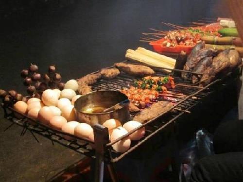 Thưởng thức hương vị đồ nướng ở Sapa