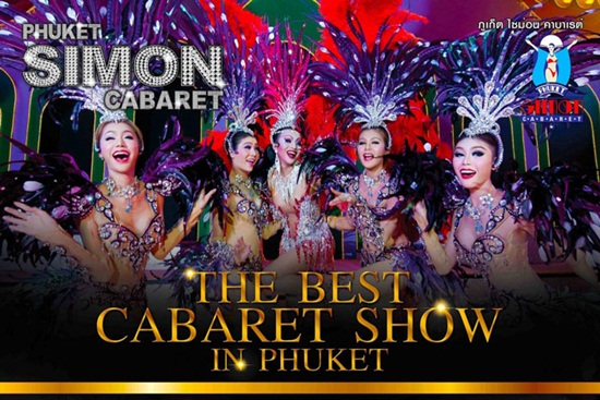 Alcazar Show, Simon Cabaret Show 2 show diễn nổi tiếng ở Thái Lan
