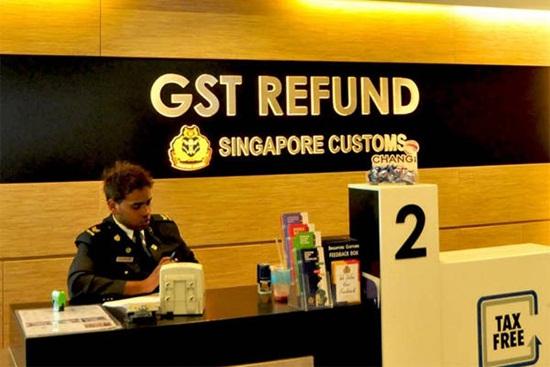 Hướng dẫn hoàn thuế khi đi mua sắm ở Singapore