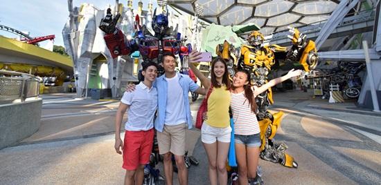 Universal Studios công viên giải trí nổi tiếng trên đảo Sentosa Singapore