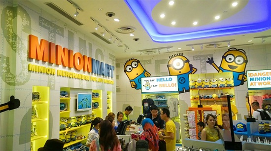 Các lựa chọn mua sắm trong universal studio singapore là gì