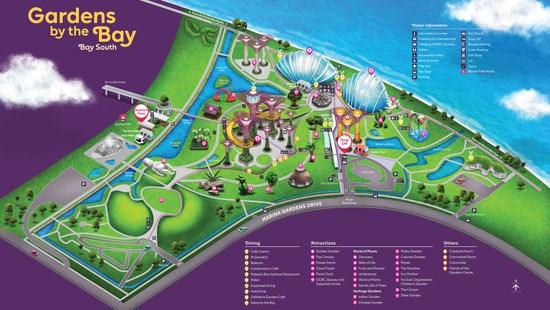 Garden bay the Bay - một trong những kỳ quan nổi tiếng của Singapore