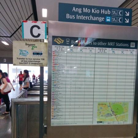 Hướng dẫn cách tự đi vườn thú Singapore Zoo