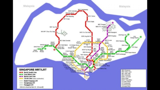 Hướng dẫn cách đi sea aquarium bằng MRT, Xe Bus, Taxi