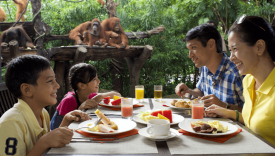 Ăn uống ở singapore zoo