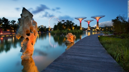 Ăn uống ở Garden by the bay