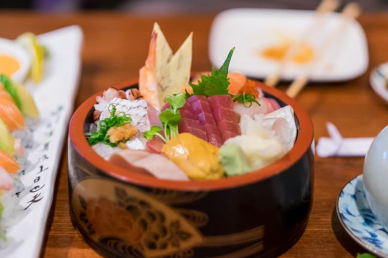 sushi chiraszushi Nhat Ban
