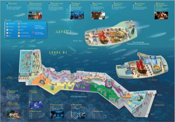 Vé S.E.A Sea Aquarium Singapore