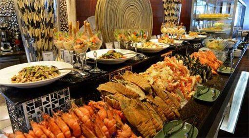 Vé buffet hải sản Baiyoke Sky