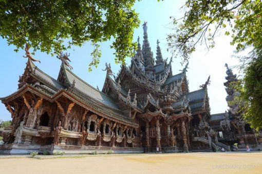 Vé Sanctuary of Truth Pattaya