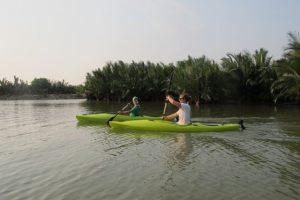 Tour Hội An Chèo Thuyền Kayak