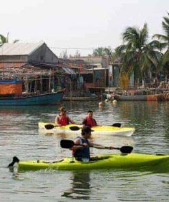Tour Hội An Chèo Thuyền Kayak - Easy Paddle