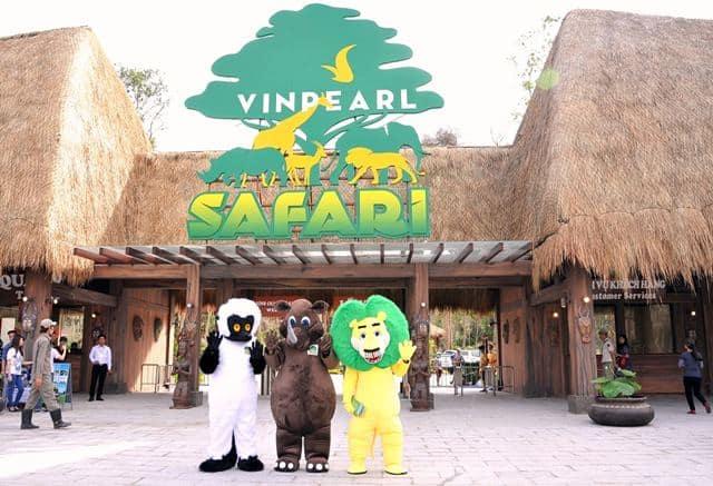 Vinpearl Safari Phú Quốc - Giá vé ưu đãi - Vui chơi thỏa thích