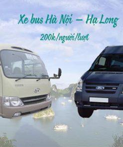 Xe ghép Hà Nội Hạ Long