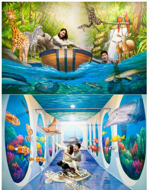 Vé Bảo Tàng Alive Museum