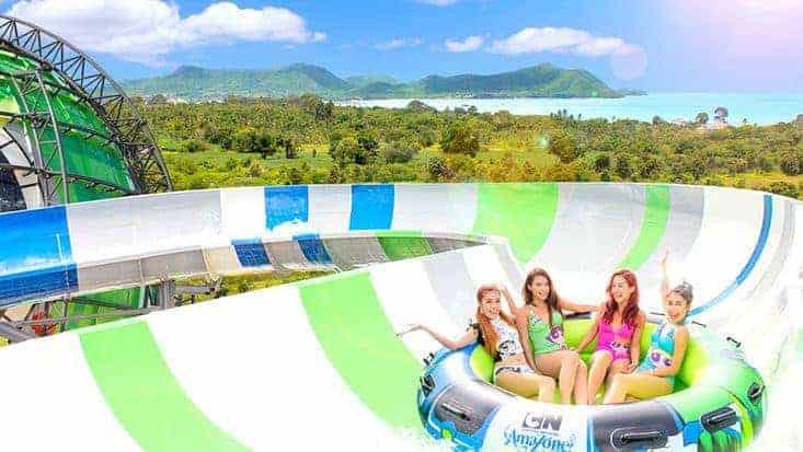 Cartoon-Network Amazone-Theme-Water-Park