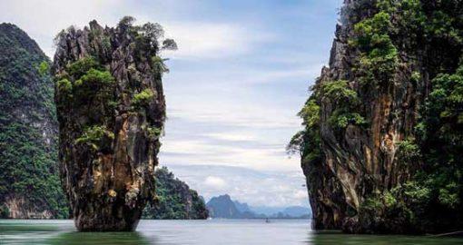 Tàu Cao Tốc Tham Quan Đảo James Bond Từ Krabi