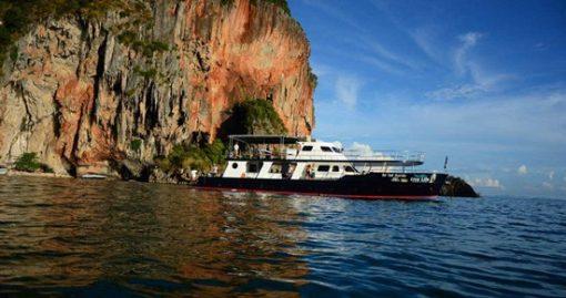 Tour Du Thuyền Sang Trọng Ngắm Hoàng Hôn Krabi