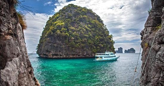Tour một Ngày Từ Krabi Đi Phi Phi bằng thuyền cao tốc