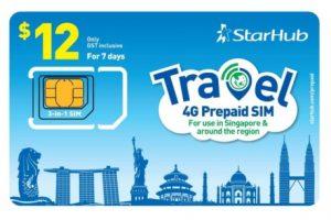 SIM 4G StarHub Singapore