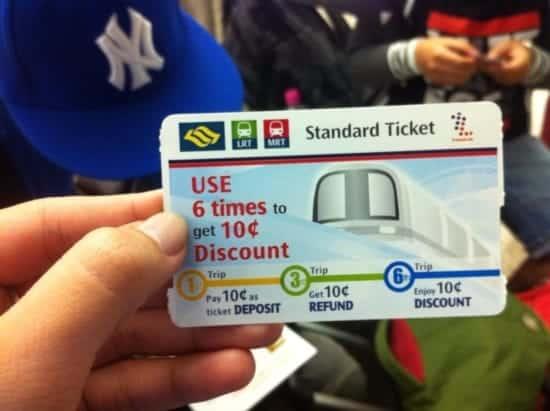 Thẻ ez link singapore