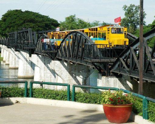 Tour ghép tham quan Kanchanaburi và Sông Kwai từ Bangkok