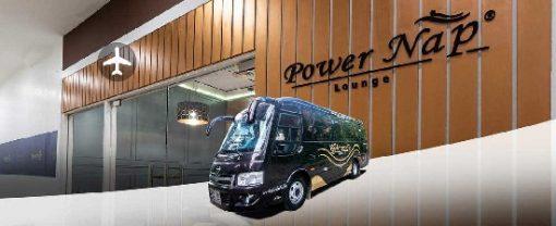 Vé xe ghép từ Power Nap Lounge đi sân bay Bangkok