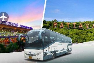 Vé xe từ sân bay Suvarnabhumi đi Pattaya