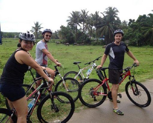 Tour đạp xe đạp đến làng Hồi Giáo Koh Klang
