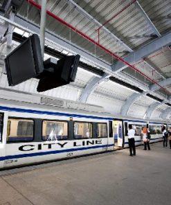 Vé Tàu Điện Sân Bay Bangkok Suvarnabhumi Airport Rail Link (ARL)